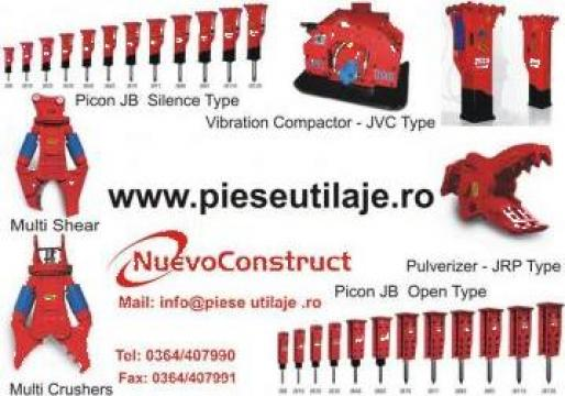 Picoane, graifere utilaje de constructii de la Nuevo Construct Srl