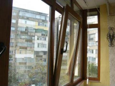 Tamplarie PVC Stejar auriu de la Sc Viso Construct Srl