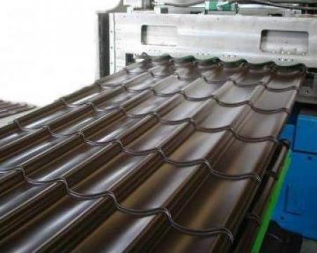 Linii de executat tigle metalice Formach de la Euro Tehnics