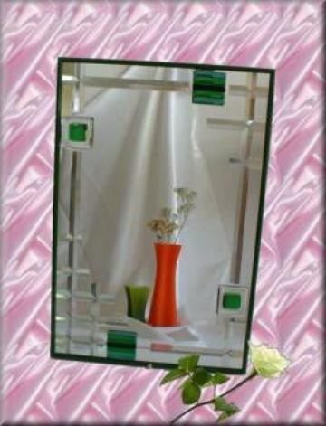 Oglinda sticla fuzionata si efect cristal de la Top Terra Trade S.r.l.