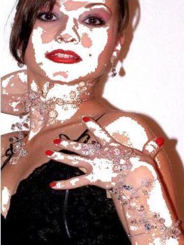 Set bijuterii rochie de seara de la Lucybella Net Srl