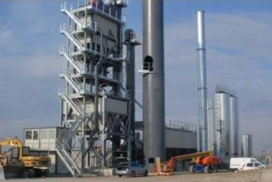 Statie preparare asfalt de la Utilaje Constructii Intercom Srl