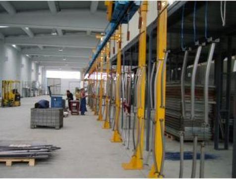 Servicii vopsire in camp electrostatic de la Technopainting Srl