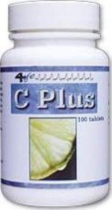 Vitamina C - Plus Flavonoid (100 tablete) de la Unovita.ro