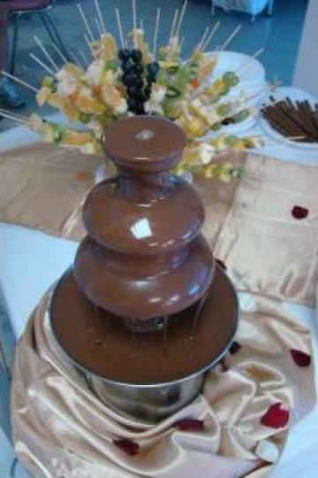Fantana de ciocolata de la Nunti Croc