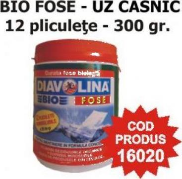 Solutie pentru fose Diavolina Bio Fose - uz casnic