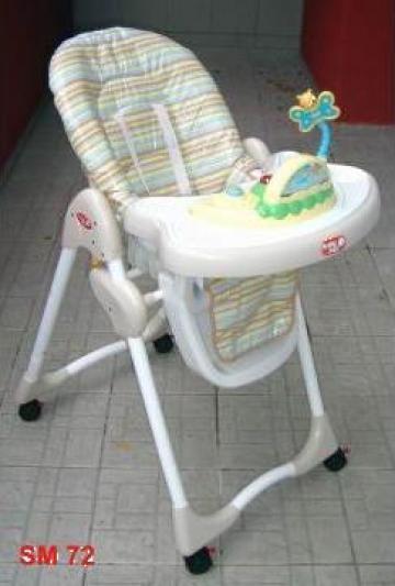 Scaun-masa pentru copil cu jucarie electronica de la Sc Logistic Farm Srl