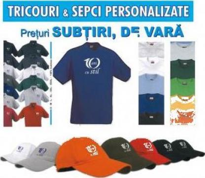 Tricouri promotionale, sepci promotionale