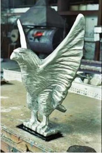 Piese de ornament turnate din aluminiu de la Turbonef S.r.l.