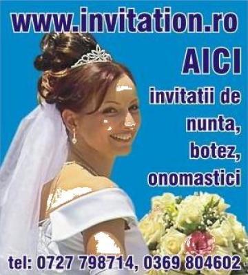 Invitatii nunta si botez de la S.c. Sidromi S.r.l.