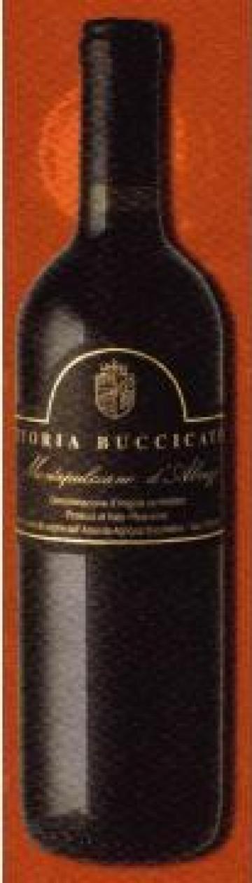 Vin Montepulciano D'abruzzo D. O. C. Italian Wine de la Fattoria Buccicatino