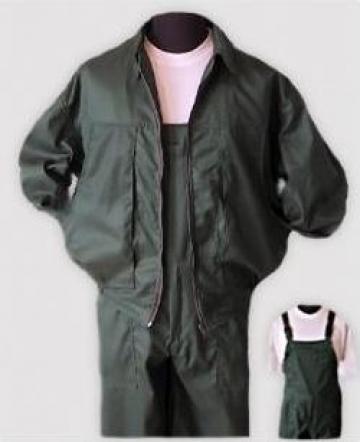 Pantalon cu pieptar + jacheta de la Chelty S.R.L