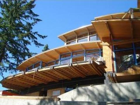 Constructie de case din lemn de la Axe Business Solutions Srl