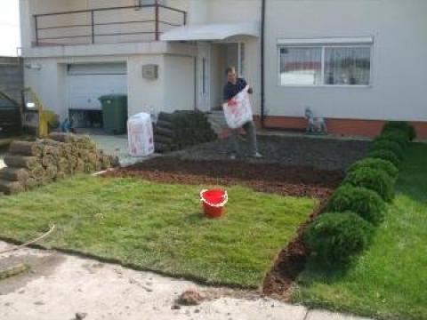 Gazon rulouri pentru gradina de la Garden Rustic Spatii Verzi