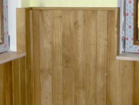 Lambriu lemn, dusumea lemn masiv, gard de lemn de la Sc Gaia Srl