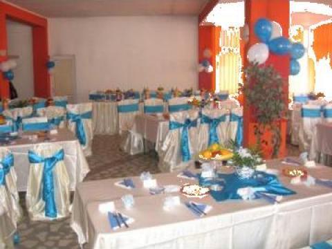 Aranjament sala nunti de la Camycris Srl
