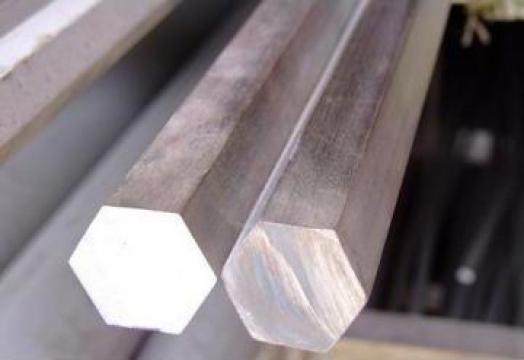 Bara din aluminiu hexagonala, Hexagon aluminiu-duralluminiu de la MRG Stainless Group Srl