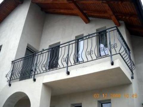 Balcon din fier forjat, inox de la Alexdor Impex Srl