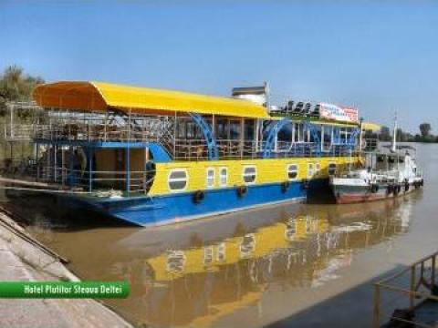 Excursii in Delta Dunarii pe Hotel Plutitor de la Modern Ambient