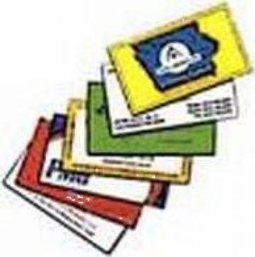 Carti de vizita color de la Fast Pc & Net Srl
