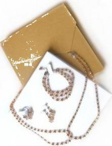 Set bijuterii cu cristale Swarovski de la Brio Design