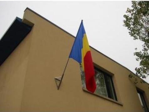 Suport din inox pentru steag de la Rodax Impex Srl