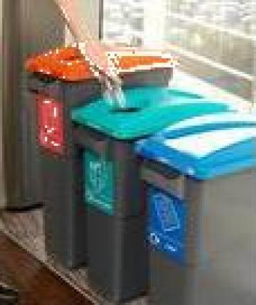 Cosuri de gunoi Eco Sort 75 l