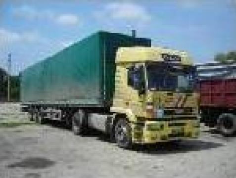 Cap Tractor Iveco Eurotech-Cursor, semiremorca prelata Kogel