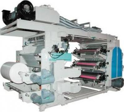 Masina de imprimat flexografica Queens de la Plastconsult Srl