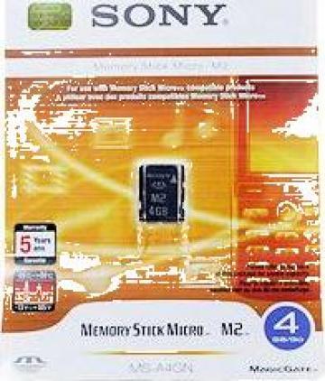 Memory Stick Micro M2 Sony 4GB de la Orcas Computers S.R.L