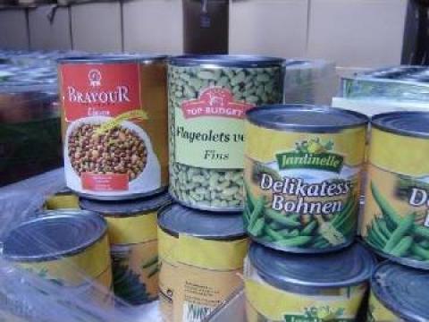 Conserve legume de la Sc Cali Investitii Srl