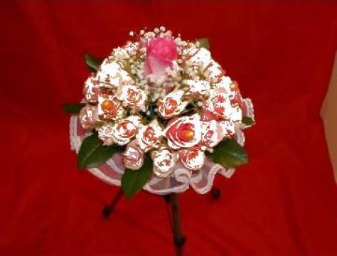 Buchet mireasa isis 611 de la Floraria Stil