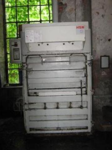 Presa de balotat carton, folie, PET second hand HSM 225.2 de la Sc Schuster Recycling Technology Srl
