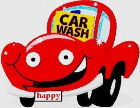 Spalatorie auto la domniciliu in parcare, fara apa de la Happy Carwash