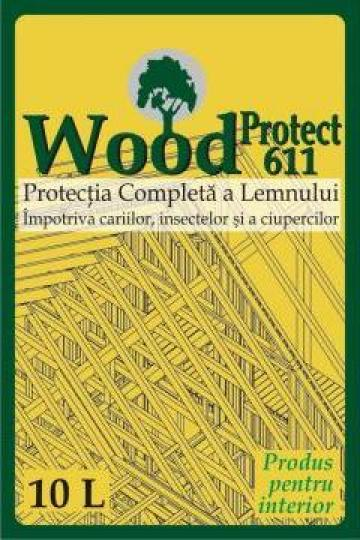Lichid concentrat protectie lemn WoodProtect 611