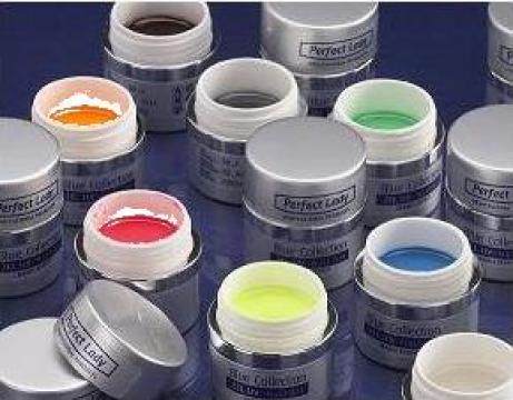 Gel color UV pentru decoratiuni - 24 de nuante de la Magic Nails