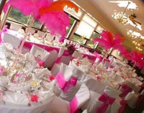 Pene de strut pentru organizari nunta de la Select Event