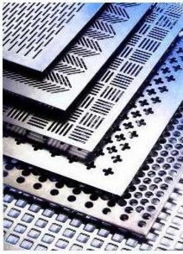 Tabla inox perforata de la Eurometals Service Center Srl