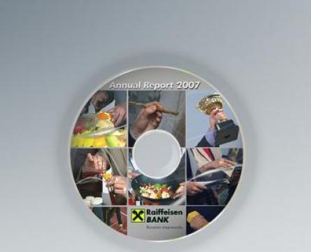 Mini cd personalizat/ multiplicat de la Top Production Srl