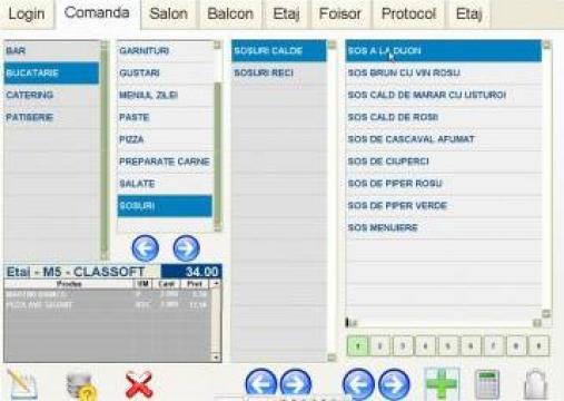 Software gestiune ClassoftSQL Restaurant/Fastfood/Cafenea de la S.c. Classoft S.r.l.