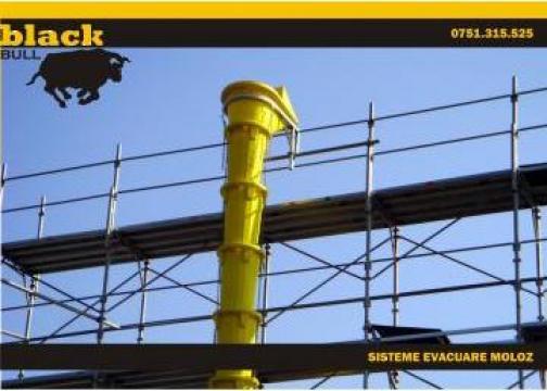 Tubulatura PVC evacuare moloz