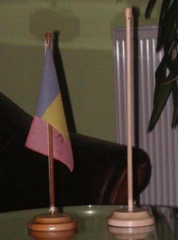 Suport lemn steag de la Blumapi Impex