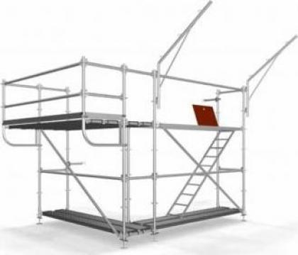 Schele multidirectionale modulare, esafodaje modulare Theca de la Blackbull Com Ro