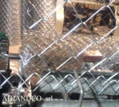 Plasa impletita sarma zincata gard sau gabioane d1,6-1,2x10m de la Adiandco Srl