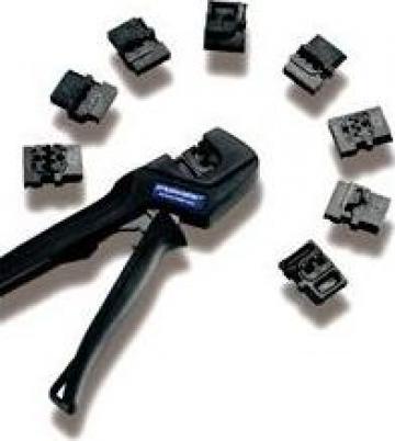 Clesti sertizare cabluri Pressmaster mct izolatie galben