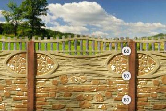 Gard beton, porti metalice, boltari, borduri spalieri de la AF Suta