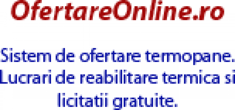 Termopane, tamplarie PVC si aluminiu de la Ofertareonline.ro