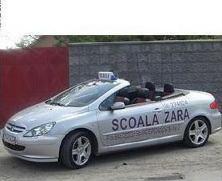 Cursuri scoala de soferi, ore perfectionare conducere auto de la Sc Zara 2005 Srl