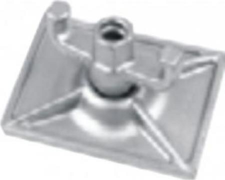 Piulite autoblocante dreptunghiulare 90 KN, 15 mm, zincate de la Blackbull Com Ro
