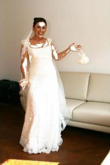 Rochie mireasa de vara de la PFA Perry Diana